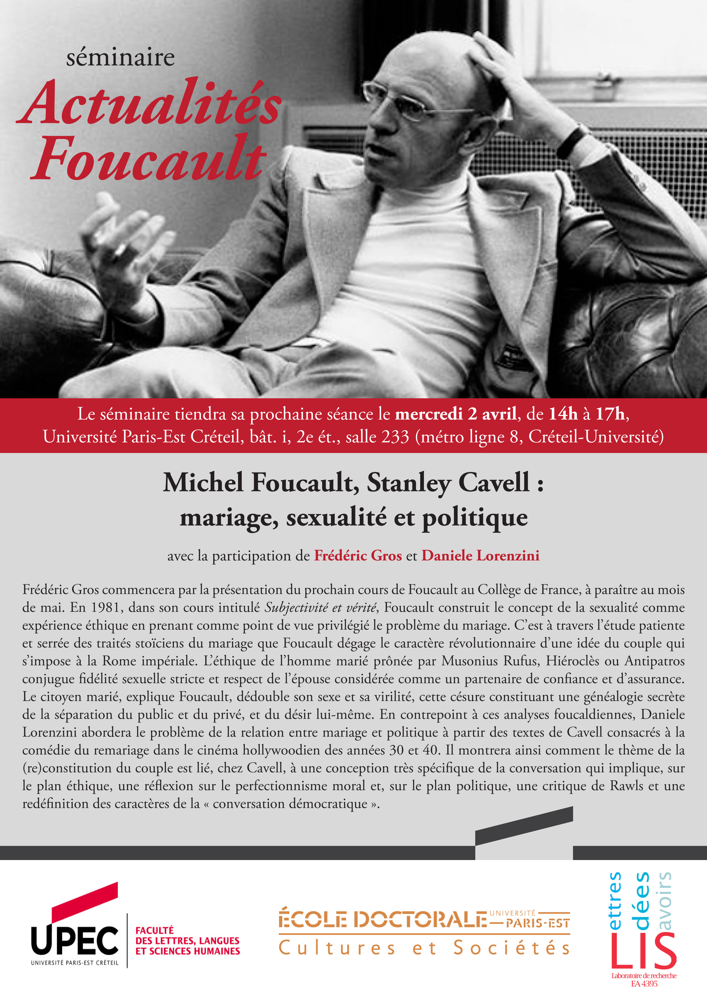 michel foucault governmentality essay Michel foucault™s reading of this essay examines foucault™s stance towards the enlightenment as for- m foucault, 'governmentality™.