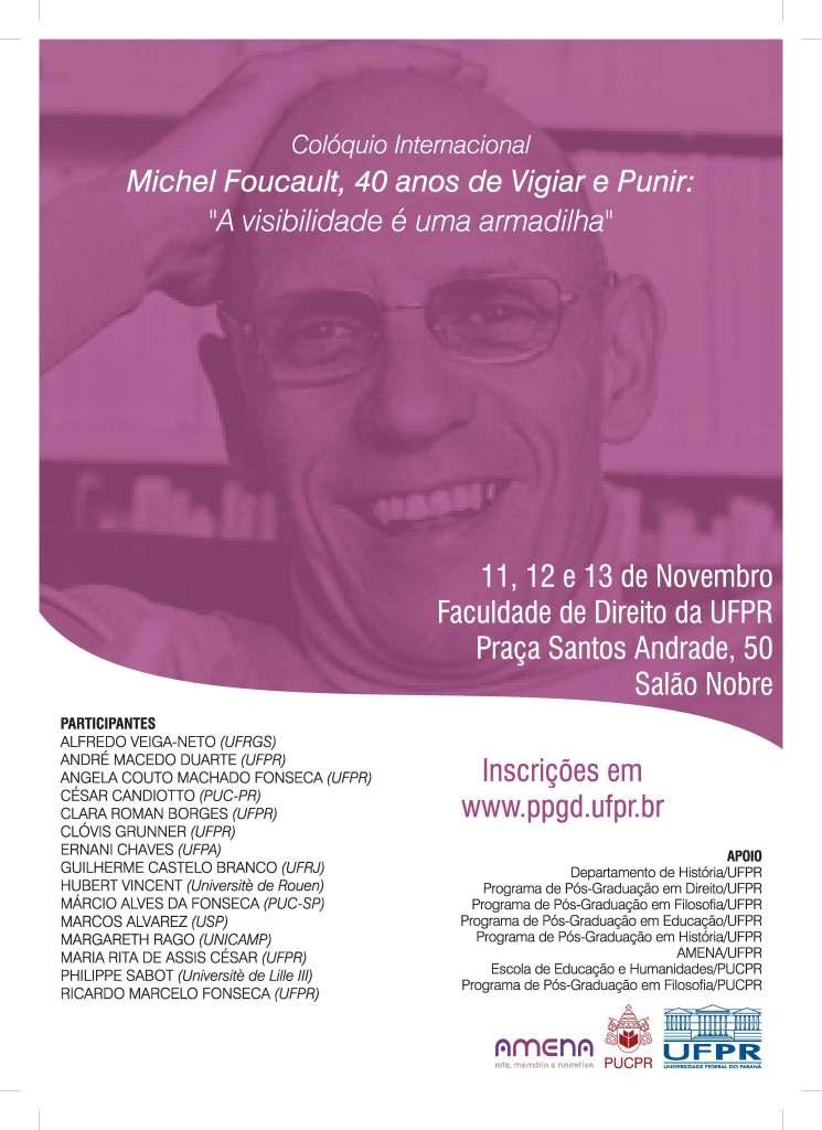 Cartaz Foucault