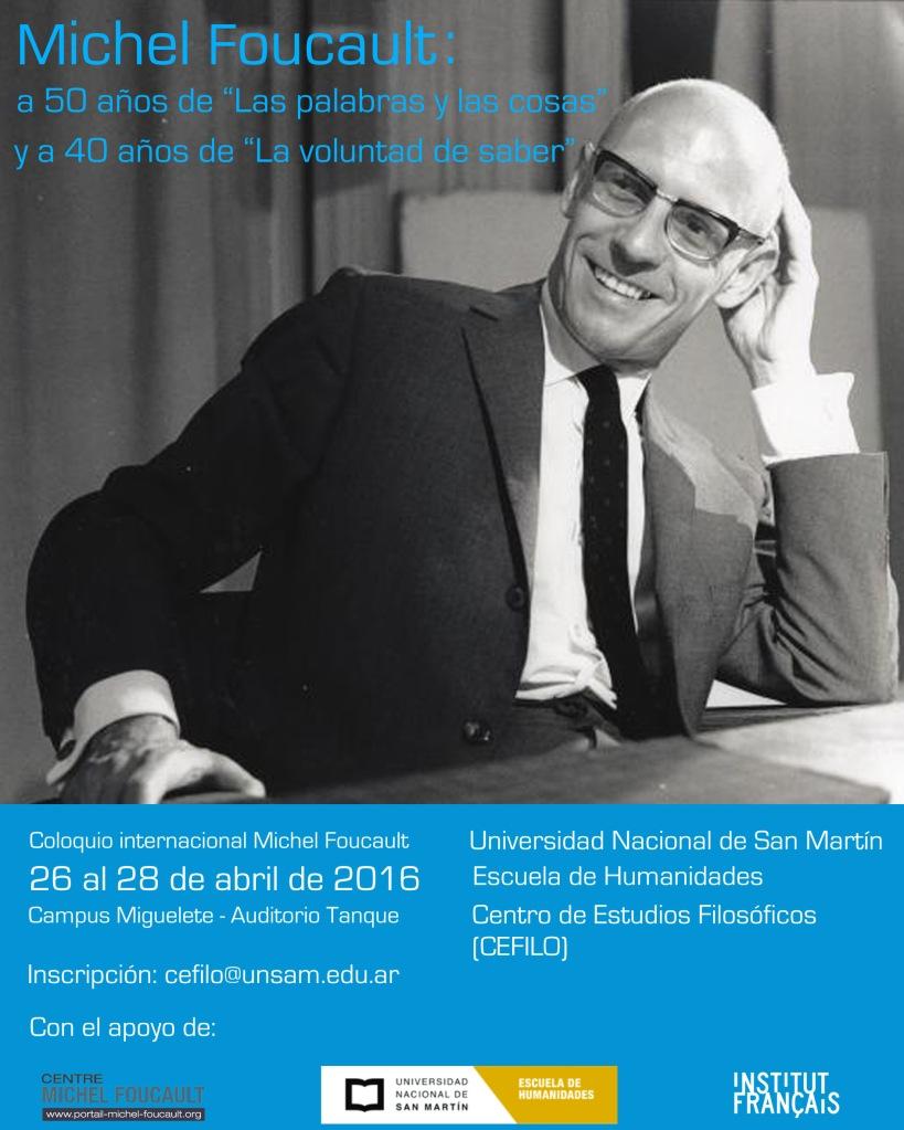 Flyer Foucault UNSAM 1