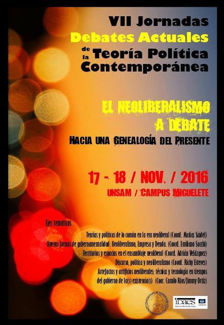 Afiche VII JORNADAS DATPC