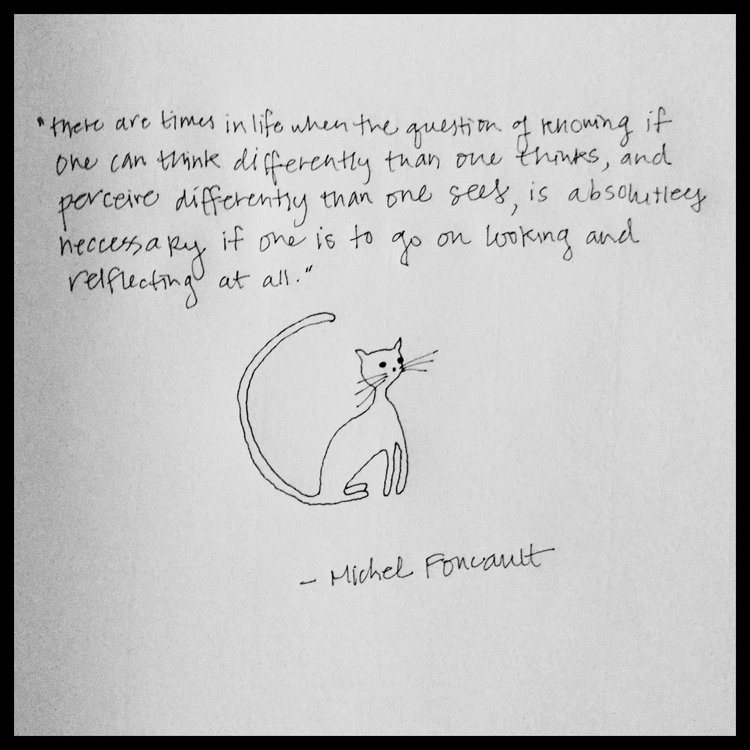 Work by Michele Khazak, Cats and Quotes